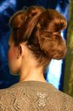 40's style up do Royalty Free Stock Photos