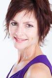 40-talkvinna Royaltyfri Fotografi
