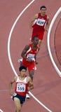 400 meter mensenTurkije Japan Trinidad royalty-vrije stock foto