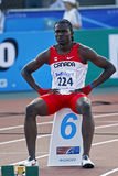 400 metres men canada moona Royalty Free Stock Photo