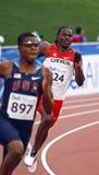 400 metres men canada usa Stock Image