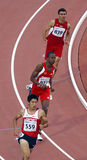 400 metres men turkey japan trinidad Royalty Free Stock Photo