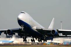 400f 747波音 免版税库存图片