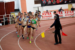 400m race Royaltyfria Bilder