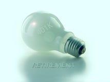 401k电灯泡光 免版税库存照片