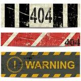 404 нашивки Стоковые Фотографии RF