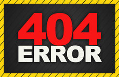 404 Error Background Royalty Free Stock Photos