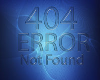 404 error - Not found Royalty Free Stock Photos