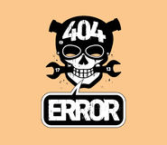 404 error, page not found design. Royalty Free Stock Image