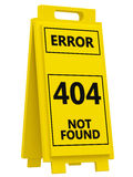 404 error sign royalty free illustration