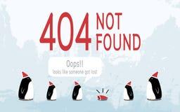 404 fout royalty-vrije illustratie