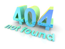 404 - not found Stock Image