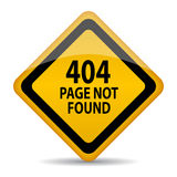 404 page not found Stock Photography