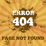 405 Not Found - Vintage with Spatter Stock Photography