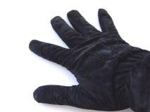 黑色手套 库存图片
