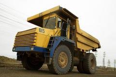 40t卡车黄色 免版税图库摄影