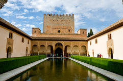 41 - Corte di Alhambra dei mirti Fotografia Stock Libera da Diritti