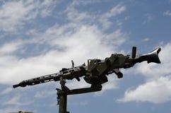 42杆枪设备mg设计 库存图片
