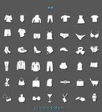 42 εικονίδια Στοκ εικόνα με δικαίωμα ελεύθερης χρήσης