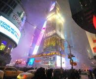 42 ударенная улица шторма снежка Стоковая Фотография RF