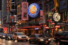 42.a calle, Nueva York Fotografía de archivo libre de regalías