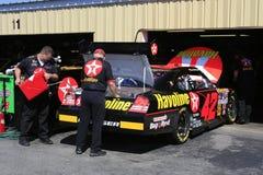 42 en el garage en el NH Imagenes de archivo