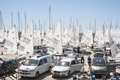42 Pincesa Sofia sailing trophy in Mallorca Stock Image