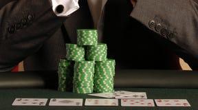 42 pokera. Zdjęcia Royalty Free