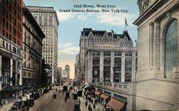 42nd улица западная Стоковое Изображение