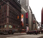 42nd and Broadway Royalty Free Stock Photo
