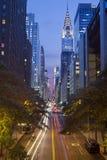 42nd manhattan gata Royaltyfri Bild