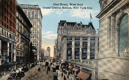 42nd Rua, ocidental Imagem de Stock
