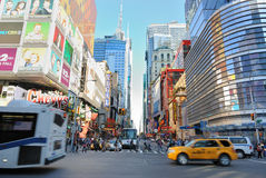 42nd Street Royalty Free Stock Photography