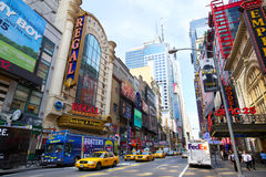 42nd Street Royalty Free Stock Photos
