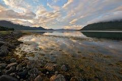 43 norr norway Fotografering för Bildbyråer