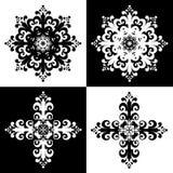 43 utsmyckade dekorativt för konst Royaltyfri Fotografi