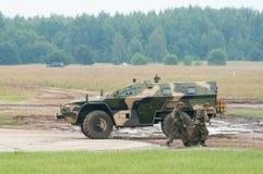 43269 воинов нагрузки kamaz груза Стоковая Фотография