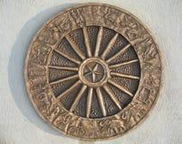 4394马戏象征金属 库存图片