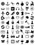 43b ikony Zdjęcie Royalty Free