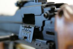 44 πυροβόλο όπλο IV μηχανή rpd Στοκ φωτογραφία με δικαίωμα ελεύθερης χρήσης