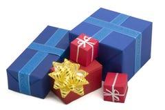 44 pudełek prezent Zdjęcie Royalty Free