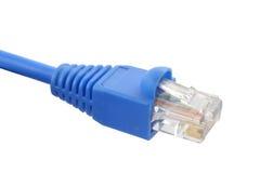 45个电缆rj 免版税库存图片