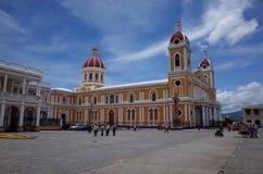 45大教堂格拉纳达 库存照片
