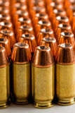 .45 acp ammunition stock photo