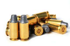 .45 ACP bullet. Royalty Free Stock Photos