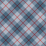 45 Degree Plaid Pattern_Blue-Red Stripe stock illustration