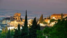 45 - Granada-Kathedrale Stockfotos