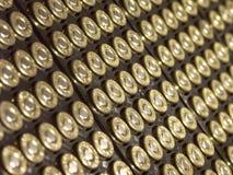 45 Kaliber-automatische Gewehrkugeln Stockbilder