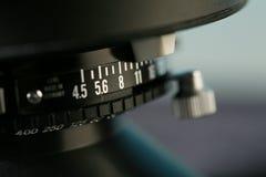 45 Kameraobjektiv Lizenzfreie Stockfotografie