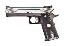 45 moderna halvt för automatisk handeldvapen Arkivfoton